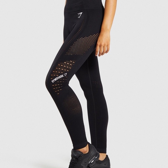 58f64436518b6 Gymshark Pants | Flawless Knit Tights Trade | Poshmark